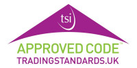 Regulated by the Approved Code Trading Standards